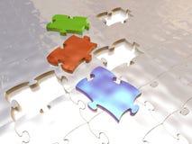 Puzzle colorato Fotografia Stock Libera da Diritti