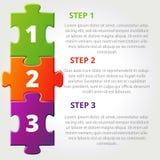 Puzzle con i punti Immagini Stock Libere da Diritti