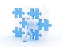 Puzzle concept Royalty Free Stock Image