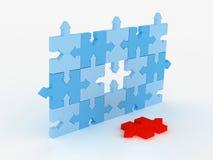 Puzzle concept Stock Images