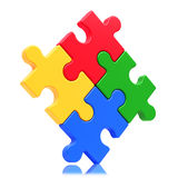 Puzzle concept Royalty Free Stock Images