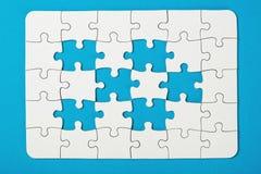 Puzzle, concezione commercializzante Immagine Stock Libera da Diritti