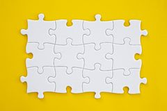 Puzzle Connection Royalty Free Stock Image
