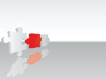 Puzzle connection 3 Stock Images
