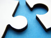 Puzzle connections Royalty Free Stock Image