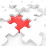 Puzzle connettente Immagini Stock Libere da Diritti