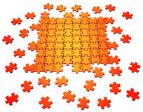 Puzzle Construction Stock Photography