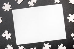 Puzzle copy Royalty Free Stock Photography