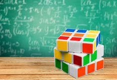 Puzzle Cube Stock Image