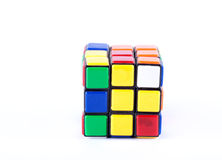 Puzzle cube studio isolated Stock Photography