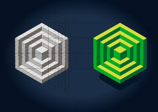 Puzzle Cube Royalty Free Stock Photography