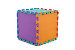 Puzzle cube Royalty Free Stock Images