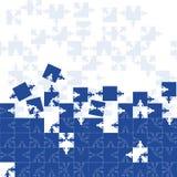 Puzzle d'équipe d'amitié Image libre de droits