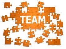 puzzle 3d Fotografia Stock