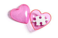 Puzzle d'amour Image stock