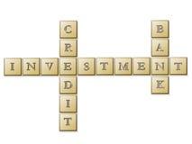 Puzzle d'investissement Image stock