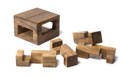 Puzzle da un albero Immagini Stock