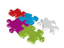 puzzle de concept Photo libre de droits