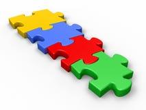 puzzle de connexion illustration de vecteur