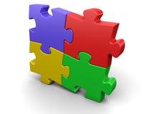 puzzle de connexion illustration libre de droits