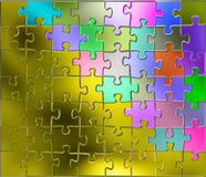 Puzzle de fond Photos stock