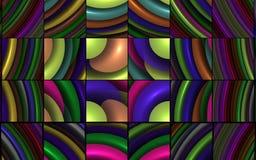 Puzzle de fractale Image libre de droits