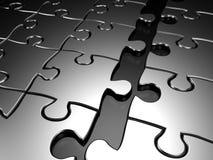 Puzzle de jointure 3d rendu illustration libre de droits