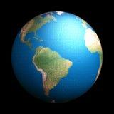 Puzzle de la terre Photographie stock libre de droits