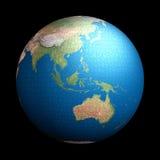 Puzzle de la terre Image libre de droits