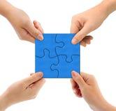 puzzle de mains Images stock