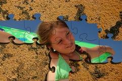 Puzzle de mosaïque. Photographie stock