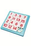puzzle de numéros Image libre de droits