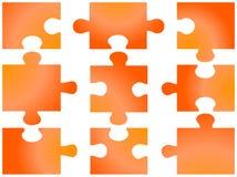 puzzle de parties Image libre de droits