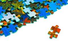 puzzle de parties Photographie stock libre de droits