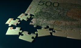 Puzzle de pesos de l'Argentine Image stock