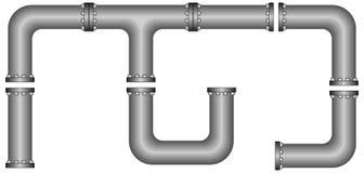 Puzzle de pipe Photographie stock libre de droits