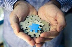 Puzzle de poignée Photo libre de droits