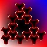 Puzzle de triangle Illustration Libre de Droits