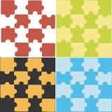 Puzzle de vecteur Photos stock