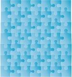 Puzzle de vecteur Image stock