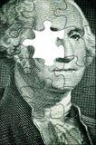 Puzzle de Washington Photo libre de droits