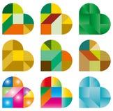 Puzzle del cuore Fotografia Stock Libera da Diritti