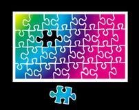 Puzzle del puzzle Immagini Stock Libere da Diritti