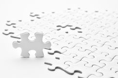 Puzzle del puzzle Fotografia Stock Libera da Diritti