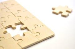 Puzzle del puzzle Immagine Stock