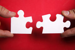 Puzzle del puzzle Fotografie Stock Libere da Diritti