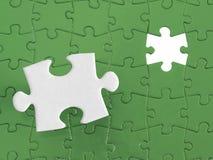 Puzzle del puzzle Fotografia Stock