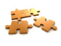 Puzzle del puzzle Fotografie Stock