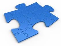 Puzzle del puzzle dal puzzle Fotografia Stock