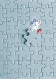 puzzle dell'orologio  immagine stock